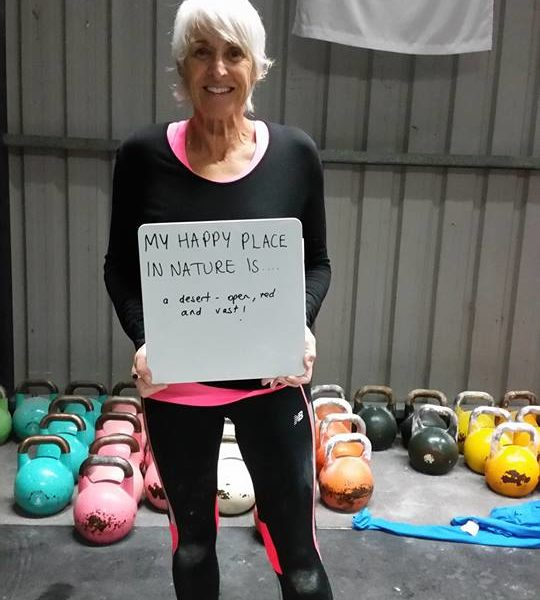 Maxine, Rock Hard Kettle Bell Club