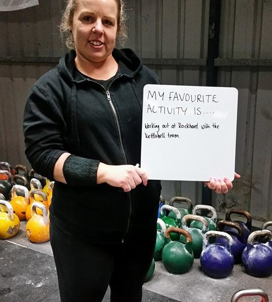 Sarah Lee, Rock Hard Kettle Bell Club